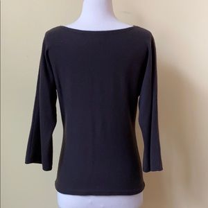 Ann Taylor Sweaters - Ann Taylor Cashmere Brown 3/4 Sleeve Sweater